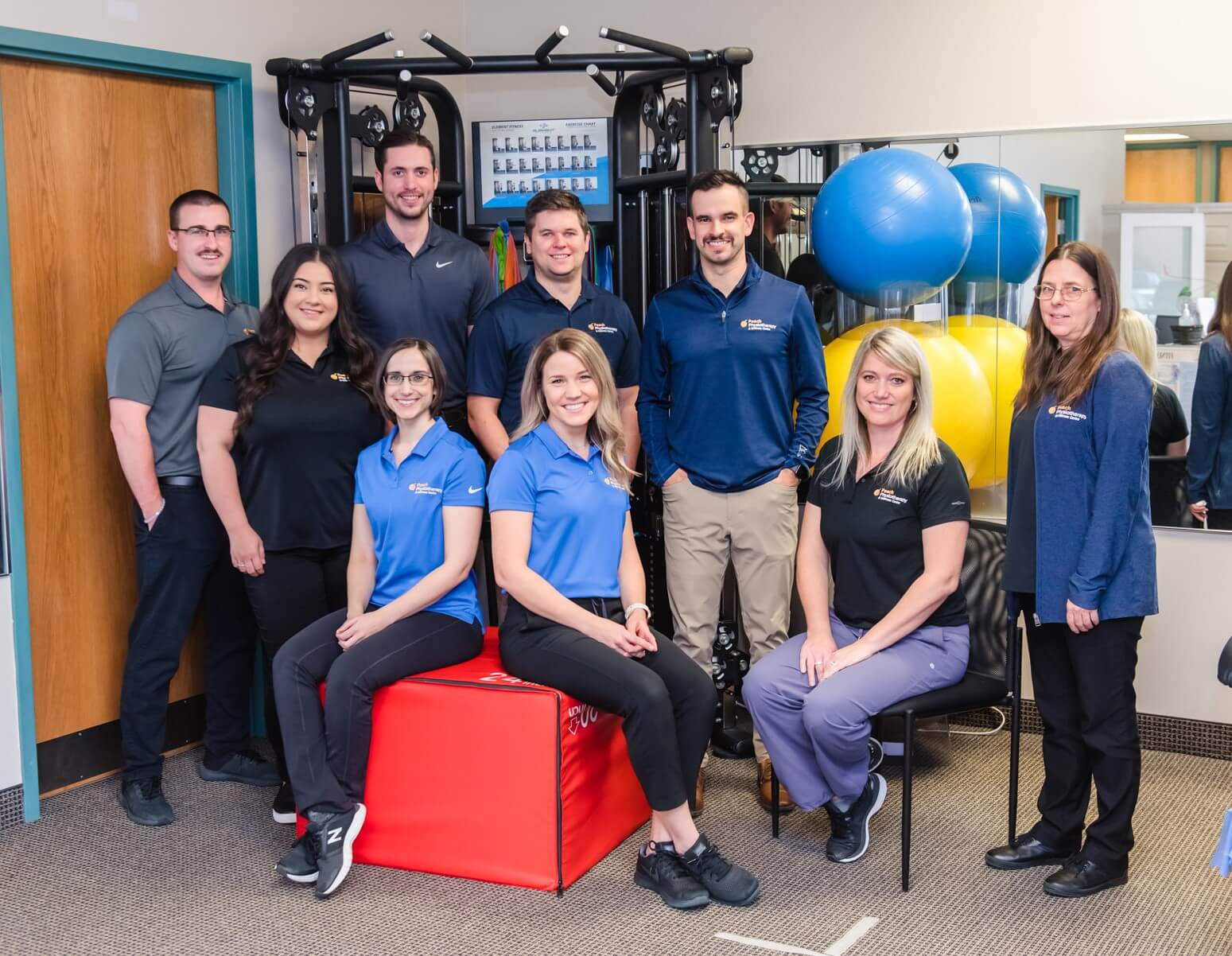 peach physiotherapy and wellness centre our team